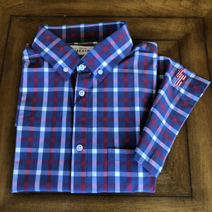 MIZZEN + MAIN Leeward Short Sleeve Dress Shirt
