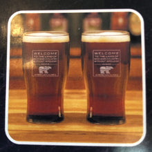 Load image into Gallery viewer, Sterling Cut Glass Irish Pub Glass Set w/ Patriot Bear