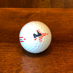 Titleist Golf Ball TruFeel Ball w/ Patriot Jet & Folds of Honor Logo