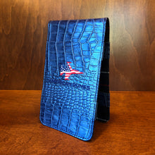 Load image into Gallery viewer, Winston Collection Gator Yardage Book & Scorecard Holder