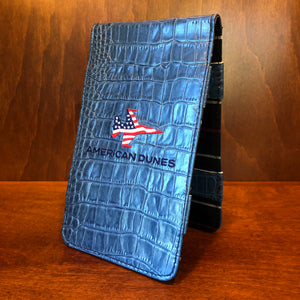 Winston Collection Gator Yardage Book & Scorecard Holder