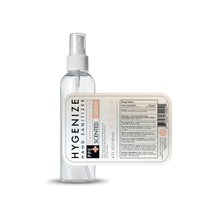 Load image into Gallery viewer, Hygiene-N-Juice 4oz | Gel Hand Sanitizer w/ Spray Top