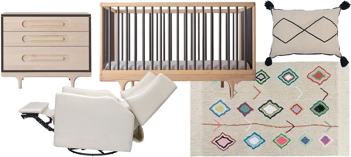 The Sophisticated Bohemian Nursery
