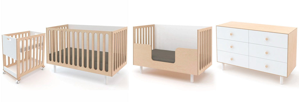 Modern Nursery - Oeuf Fawn Collection Complete Nursery