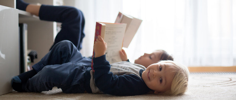 reading every day can help build habits!