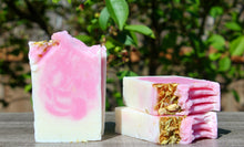 Load image into Gallery viewer, Handmade Natural Bar Soap - Sweet Pea