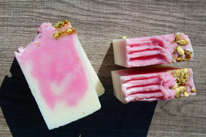 Handmade Natural Bar Soap - Sweet Pea