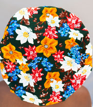 Load image into Gallery viewer, Satin Lined Ankara Cyra Bonnet