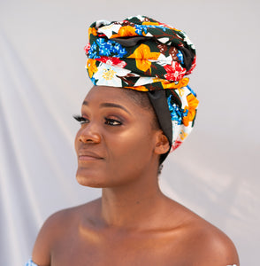 Satin Lined Head Wraps - Cyra