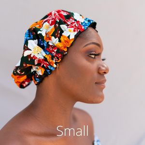 Satin Lined Ankara Cyra Bonnet