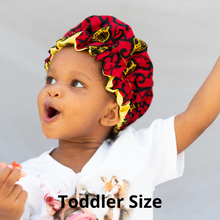 Load image into Gallery viewer, Satin Lined Ankara Sheba Bonnet