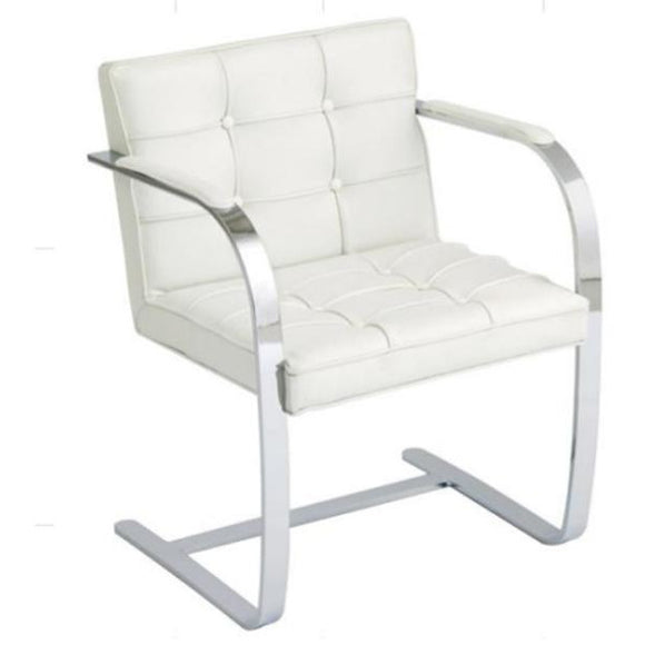 Flat metal Arm chair
