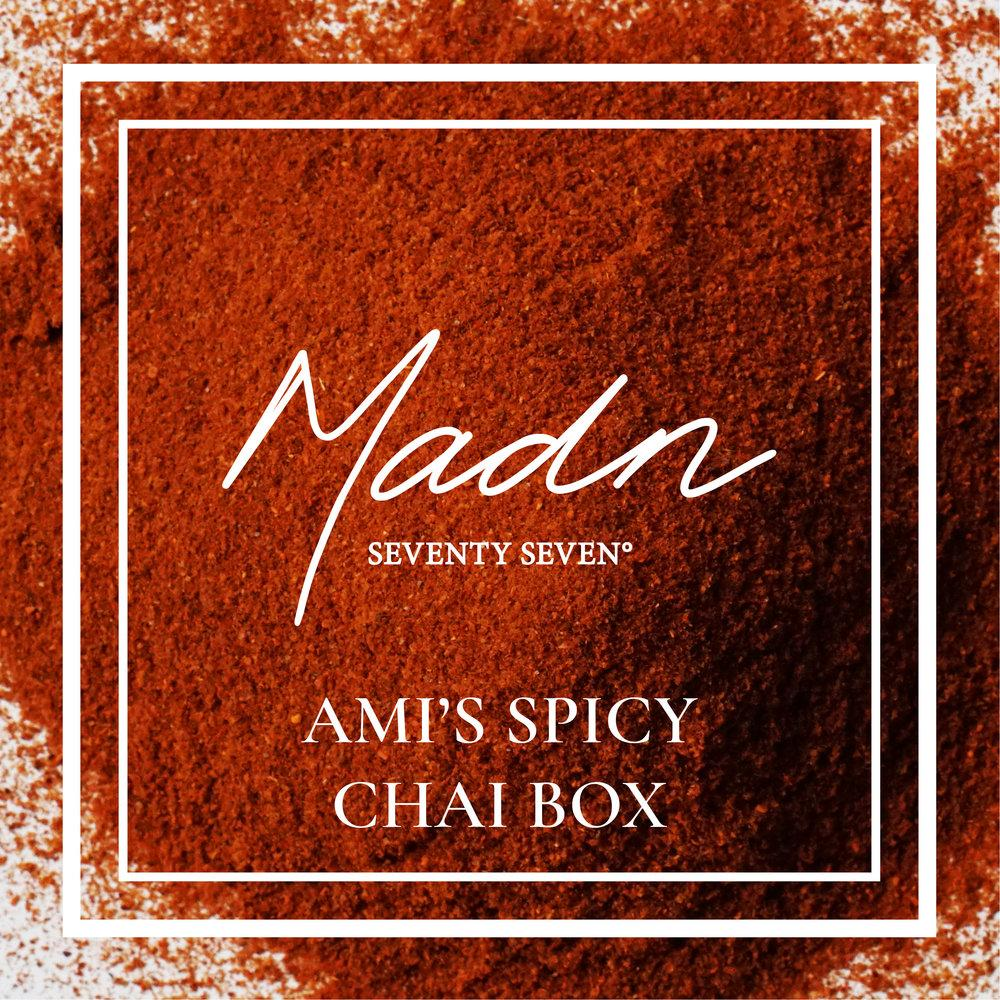 77Boxes - Ami's Spicy Chai Box