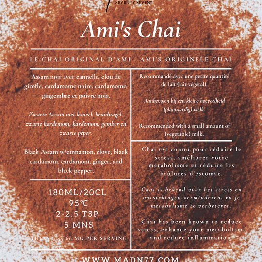 Ami's Chai with Black Pepper and Ginger