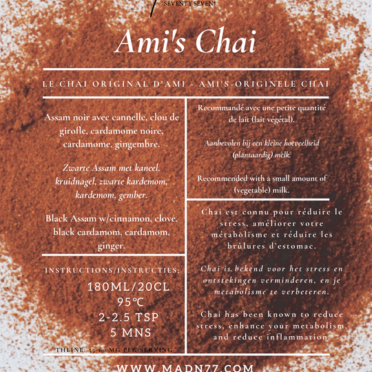 Ami's Chai with Ginger
