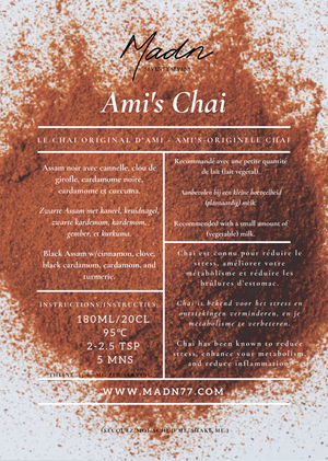 Open image in slideshow, Ami's Chai with Turmeric
