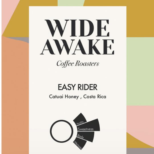 Easy Rider coffee by Wide Awake