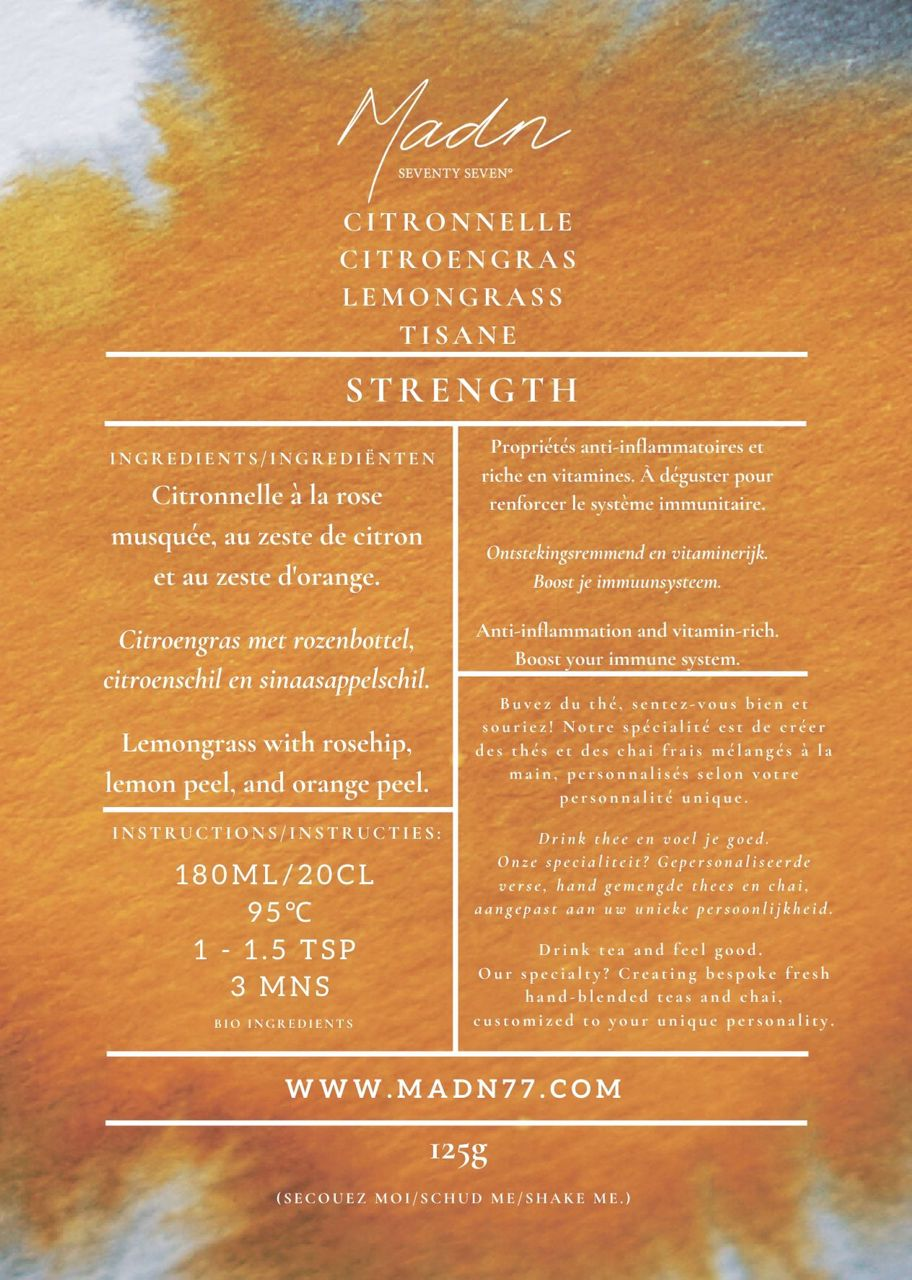 STRENGTH - Lemongrass Tea Mix