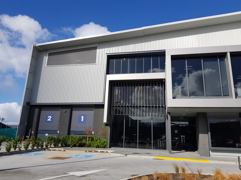 Glass in Commercial Building | Door + Window Systems Auckland