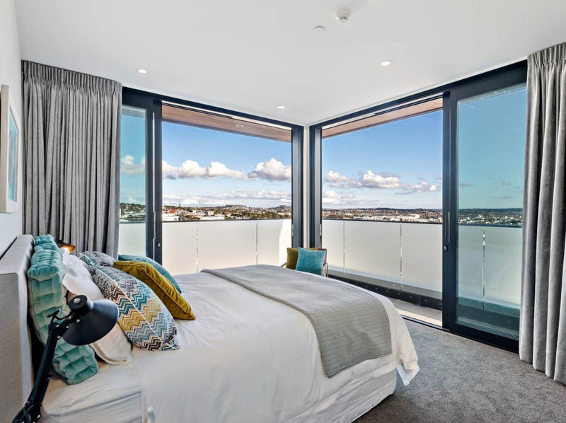 Crest Apartments | residential projects | Aluminium Doors and Windows | Door + Window Systems Auckland