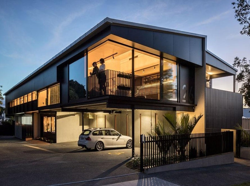 SGA (Strachan Group Architects) Office | commercial projects | Aluminium Doors and Windows | Door + Window Systems Auckland