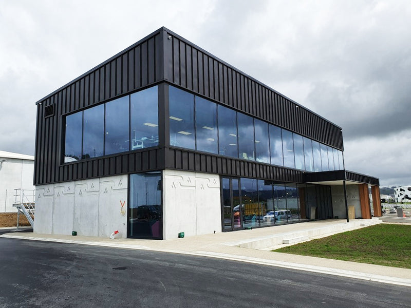 Synlait - Pokeno | commercial projects | Aluminium Doors and Windows | Door + Window Systems Auckland