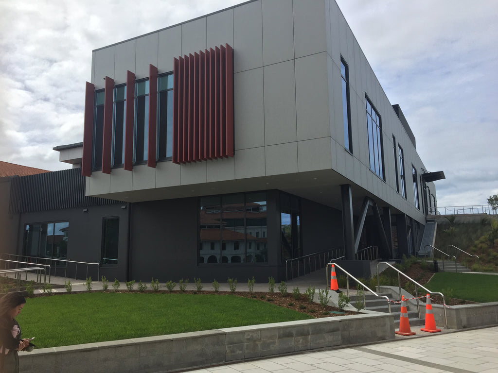 Massey University – Albany: SNW Extension | commercial projects | Aluminium Doors and Windows | Door + Window Systems Auckland