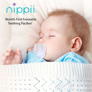 World's First Freezable Teething Pacifier Image Nippii