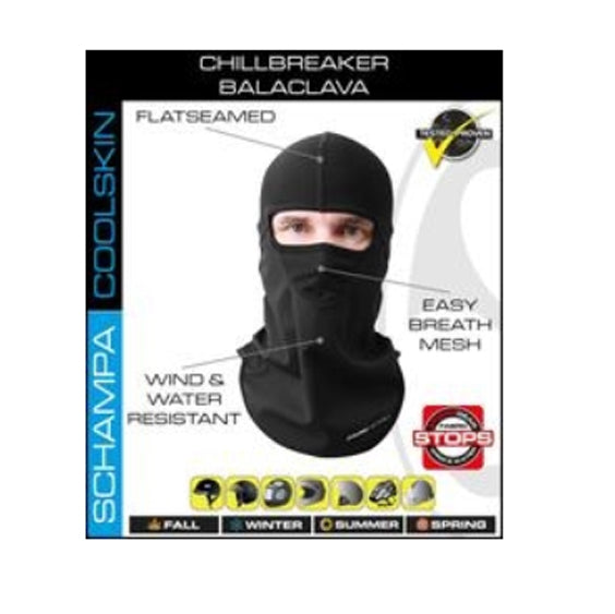Daniel Smart Balaclava Chill Breaker - Stitching Color - Black - 421 Moto Gear