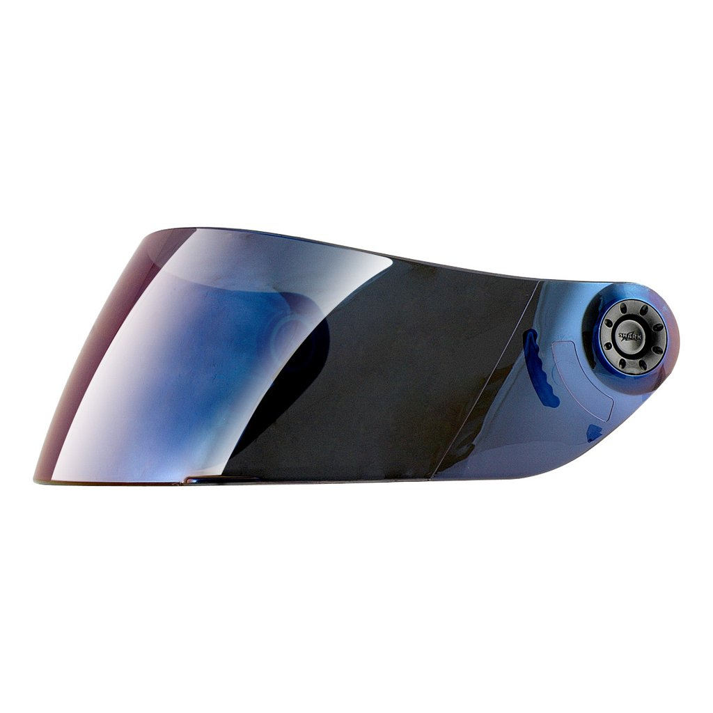 SHARK Visor Mirrored Blue - 421 Moto Gear