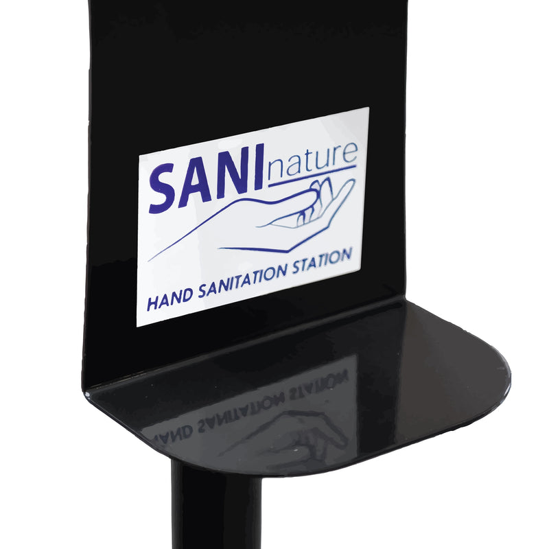 SaniWash Free Standing Automatic Hand Sanitiser Dispenser