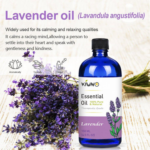 100% Pure Lavender Essential Organic Aromatherapy Oil - Yoga Outlet Shop™