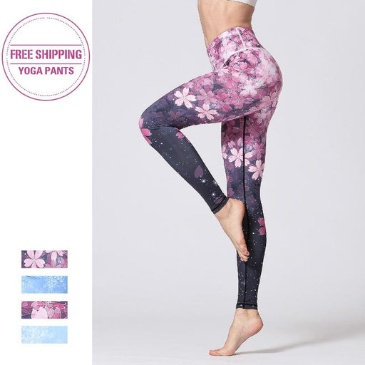 2020 Models High Waist Yoga Sport Leggings - Flow Yoga Shop™