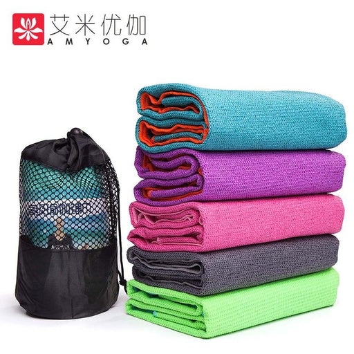 AmYoga® - Anti-Slip Super Absorbent Yoga Towel - Yoga Outlet Shop™