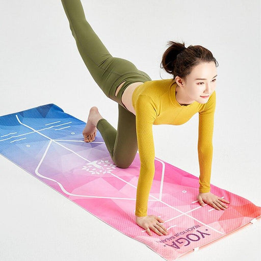 Anti-bacterial Yoga Mat-Towel - Flow Yoga Shop™