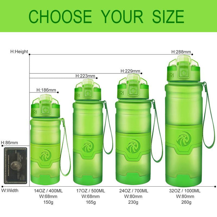 Anti-Slip Portable Water Bottle - Yoga Outlet Shop™