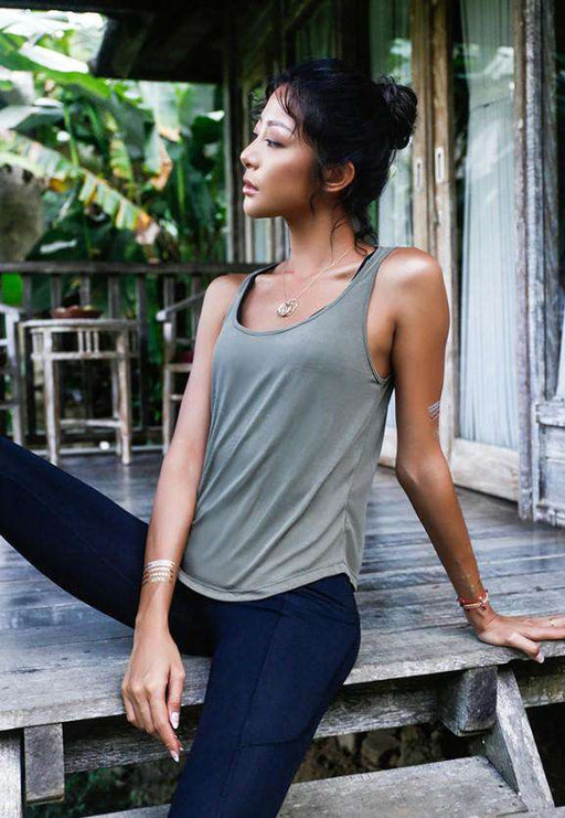 Breathable Backless Yoga Top for Women - Yoga Outlet Shop®