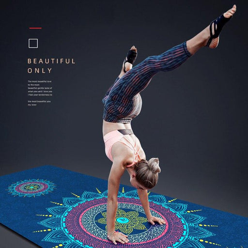 Eco-Friendly Mandala Yoga Mat - Flow Yoga Shop™