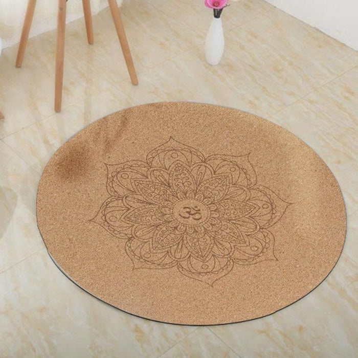 Eco-friendly Round Yoga Meditation Mat - Yoga Outlet Shop™