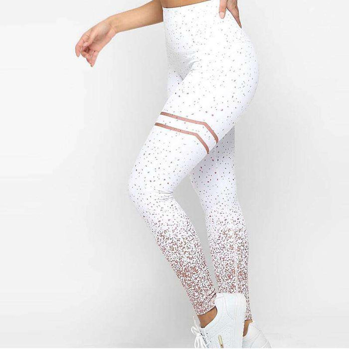 Fashionable Ombre Print Leggings for Women - Yoga Outlet Shop®