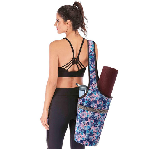 Fashionable Yoga & Fitness Tote Sling Mat Bag - Yoga Outlet Shop™