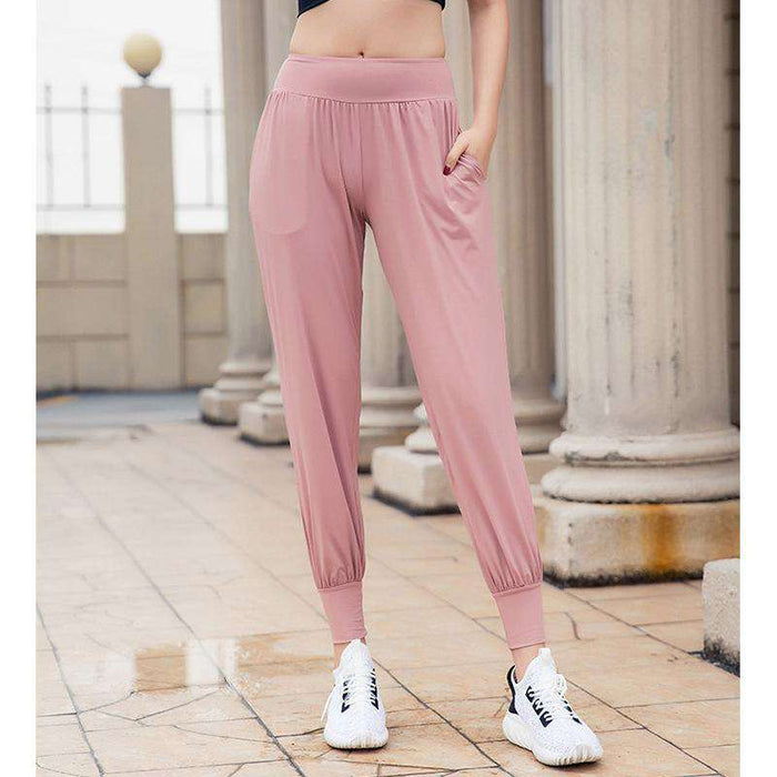 High-Stretch Breathable Loose Harem Pants for Women - Yoga Outlet Shop™