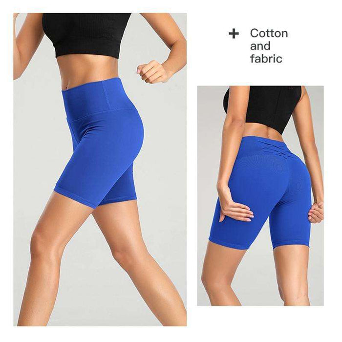 High-Waist Quick-Dry Yoga Shorts For Women - Yoga Outlet Shop®