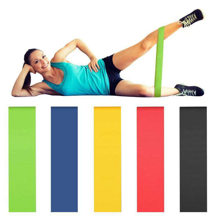 Natural Latex Yoga Resistance Band - Yoga Outlet Shop®