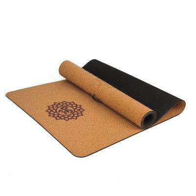 Non-Slip Natural Cork Yoga Mat - Yoga Outlet Shop®
