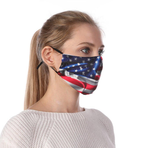 Printed Reusable Protective Face Mask - Yoga Outlet Shop™