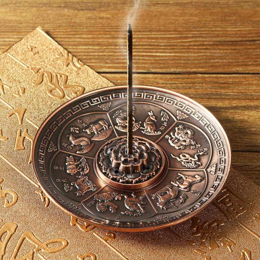 Retro Designed Cone Censer Plate - Yoga Outlet Shop™
