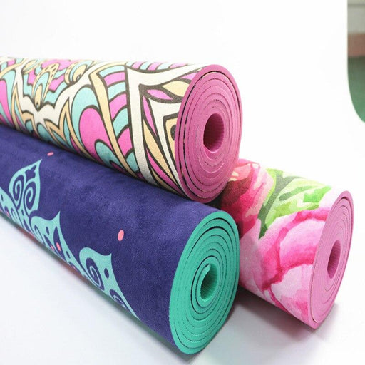 Ultra-durable Colorful Print Yoga Mat - Flow Yoga Shop™