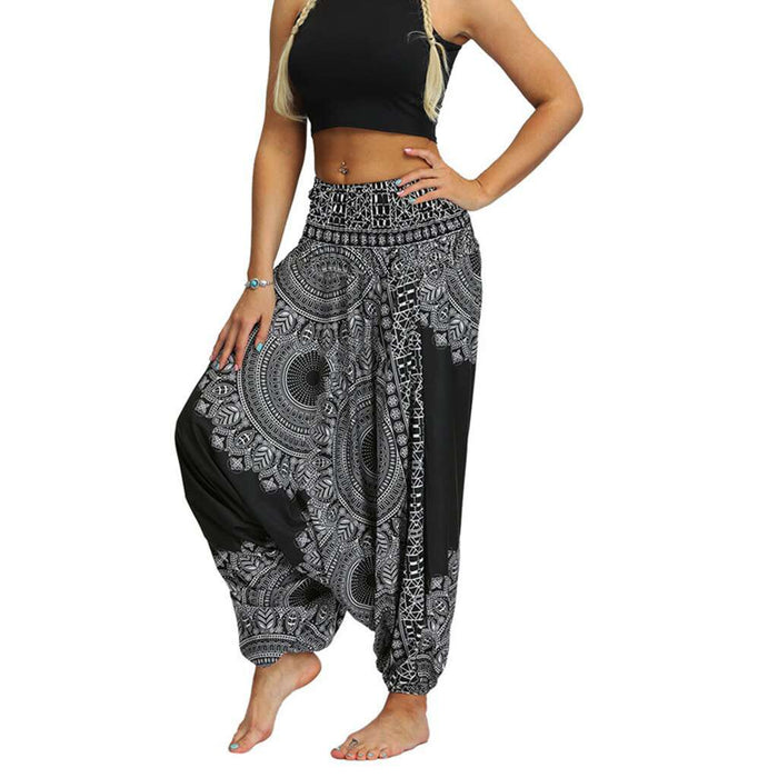 Vintage Casual Baggy Yoga Trousers - Yoga Outlet Shop™