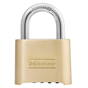175 - 2in (51mm) Wide Resettable Combination Brass Padlock